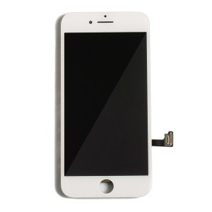 "LCD & Digitizer Frame Assembly for iPhone 7 (4.7"") (PrimeParts - Premium) - White"