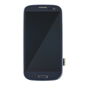 LCD & Digitizer Frame Assembly for Samsung Galaxy S3 (L710) (MDSelect - Generic) - Blue