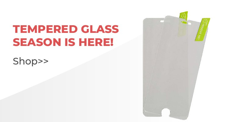 Shop Our Tempered Glass Screen Protectors